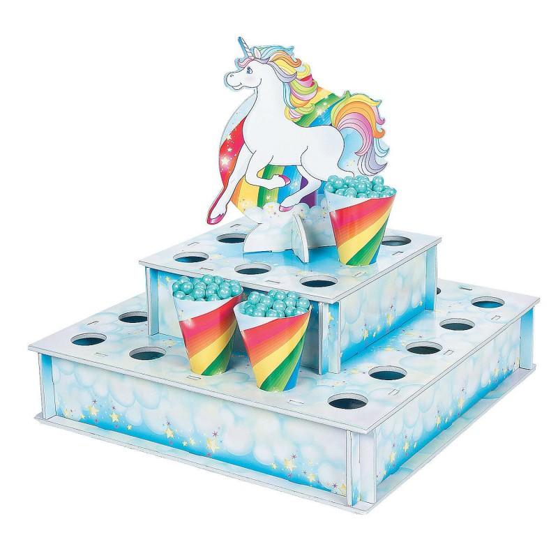 Rainbow Unicorn Treat Stand