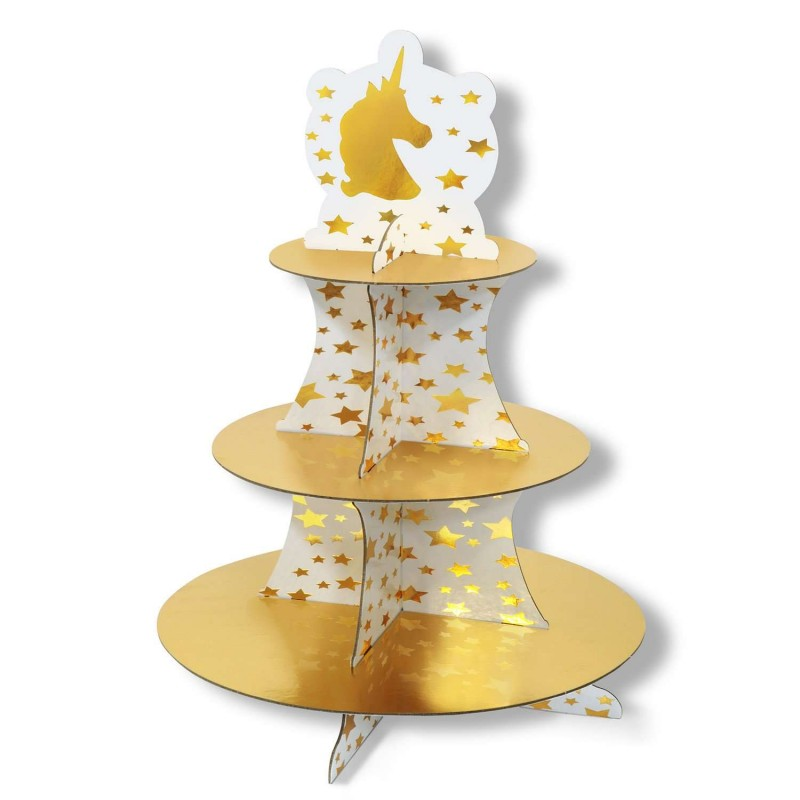 Unicorn Cupcake Stand | Unicorn Party Supplies