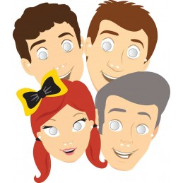 The Wiggles Party Masks (Pack of 8)