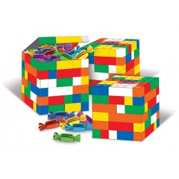 Block Party Favour Boxes (Pack of 6) | Lego Party Supplies