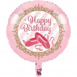Ballerina Foil Helium Balloon