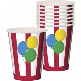 Circus Time Paper Cups (Pack of 8)