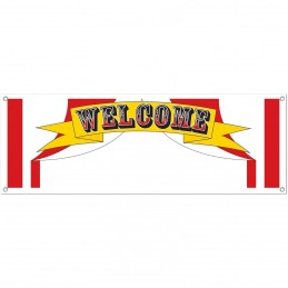 Circus Welcome Write-On Banner