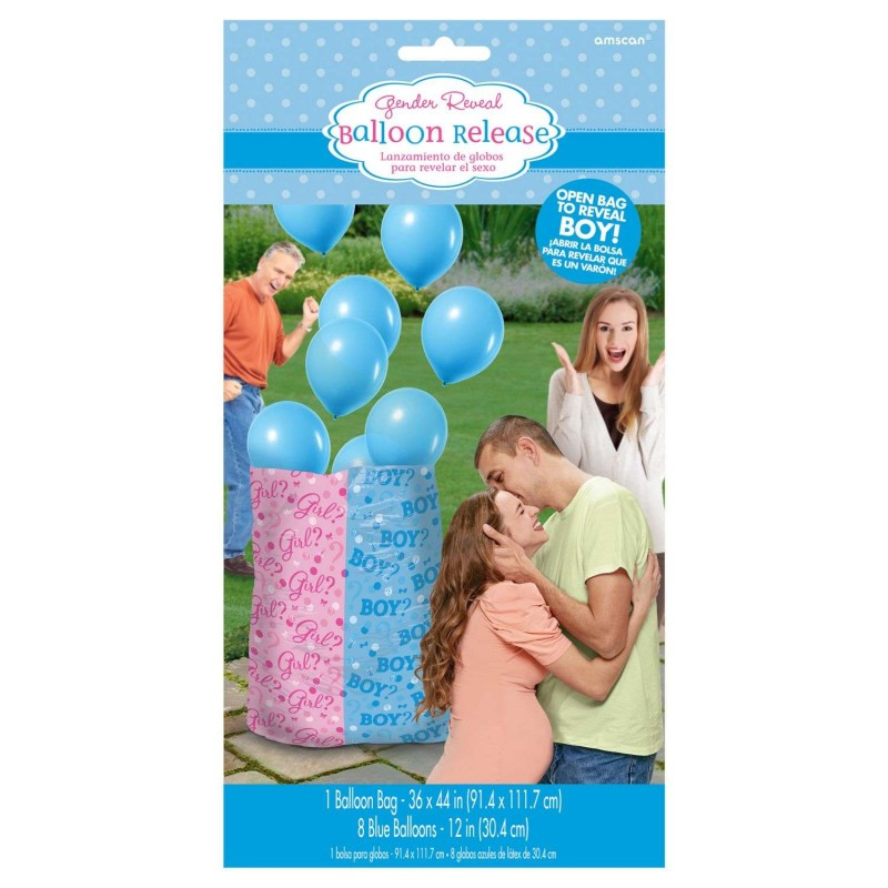 Gender Reveal Boy Balloon Kit