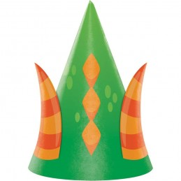 Dragons Party Hats (Pack of 8)