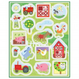 Farm Party Stickers (Set of 68)
