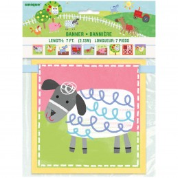 Farm Party Block Banner