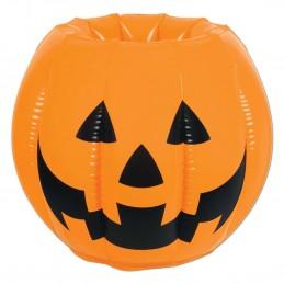 Inflatable Jack O'Lantern Cooler