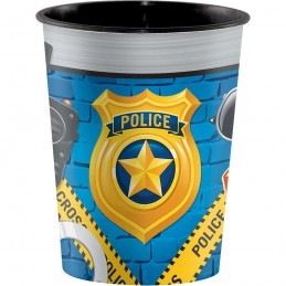 Police Party Plastic Cup