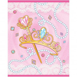 Pink Princess Loot Bags (Pack of 8)