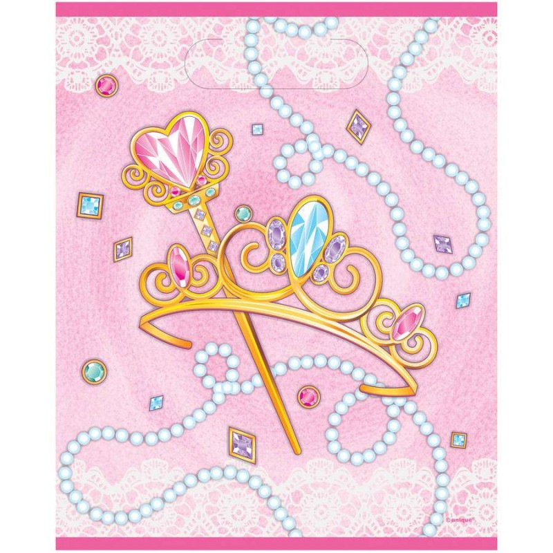 18PK PRINCESS ARIEL RINGS BIRTHDAY LOLLY LOOT BAG PARTY SUPPLIES FAVOURS