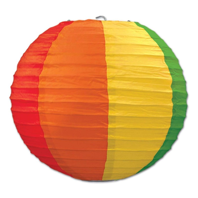 Rainbow Paper Lantern Pack Of 3