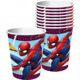 Spiderman Webbed Wonder Paper Cups (Pack of 8) | Spiderman Party Supplies