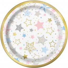 Twinkle Twinkle Little Star Small Plates (Pack of 8)