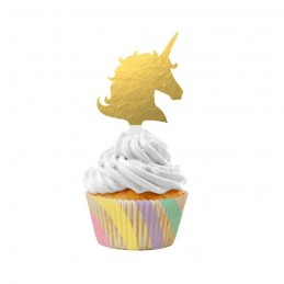 Unicorn Sparkle Cupcake Kit (Set of 24)