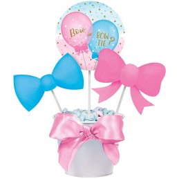 Gender Reveal Balloons Party Centrepiece Sticks (Set of 3)
