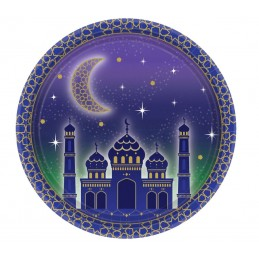 Eid Small Paper Plates (Pack of 8)