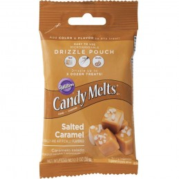 Wilton Salted Caramel Candy Melts Drizzle Pouch (56g)