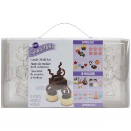 Wilton Candy & Chocolate Mold Set (8 pieces)