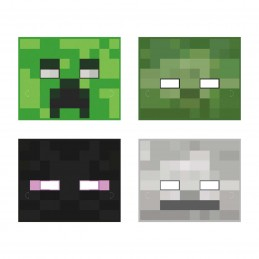 Minecraft Party Masks (Pack of 8) | Minecraft Party Supplies