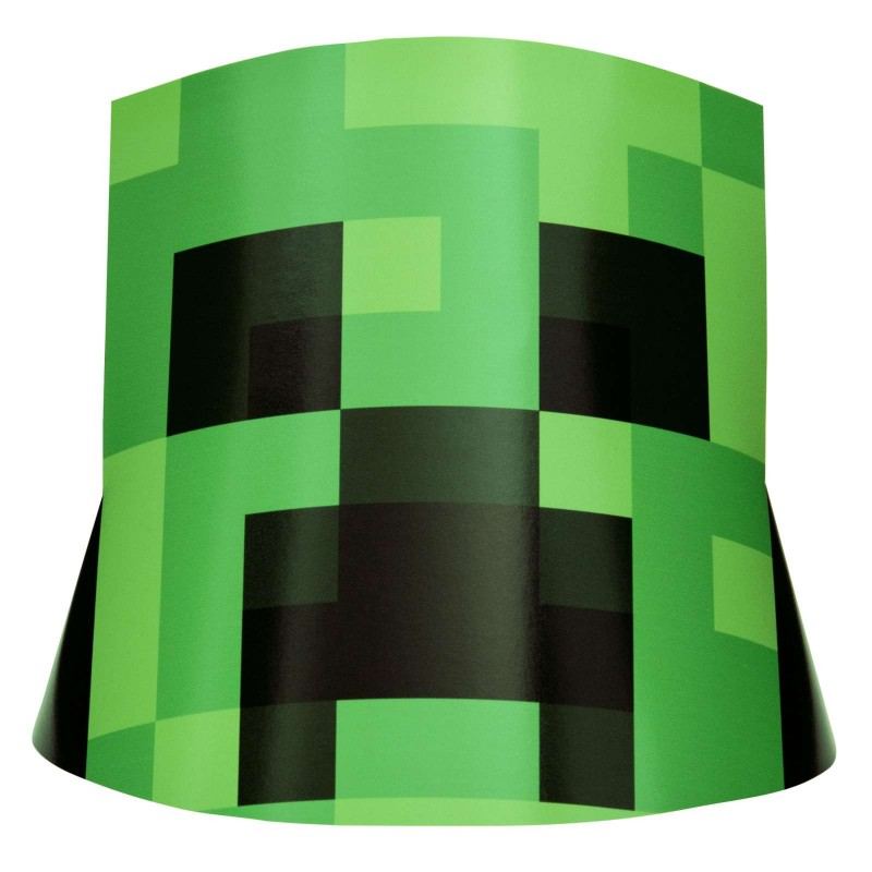 Minecraft Party Hats (Pack of 8)