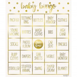 Oh Baby! Baby Shower Bingo Game