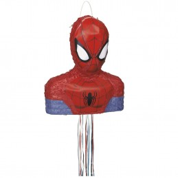 Spiderman 3D Pull String Pinata