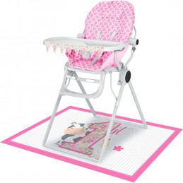 Farm 1st Birthday Girl High Chair Kit
