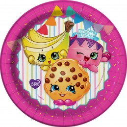 Shopkins Small Plates (Pack of 8)