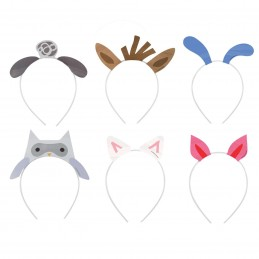 Farm Party Headbands (Pack of 6)