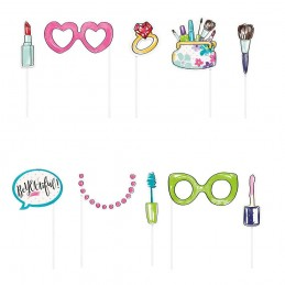 Spa Party Photo Props (Set of 10)