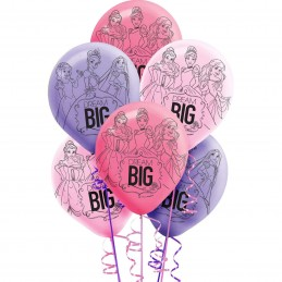 Disney Princess Balloons (Pack of 6)