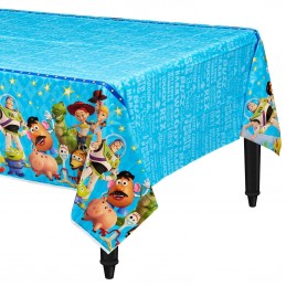 Toy Story 4 Plastic Tablecloth