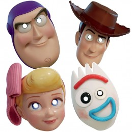 Toy Story 4 Party Masks (Pack of 8)