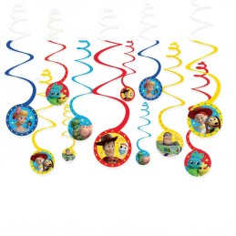 Toy Story 4 Swirl Decorations (Set of 12)