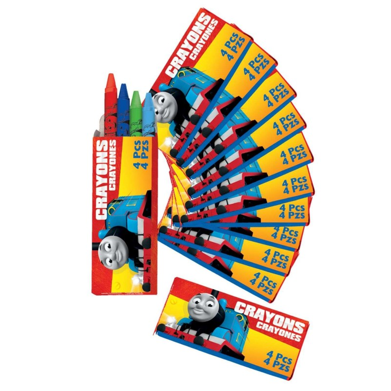 Thomas the Tank Engine Mini Crayon Boxes (Pack of 12)