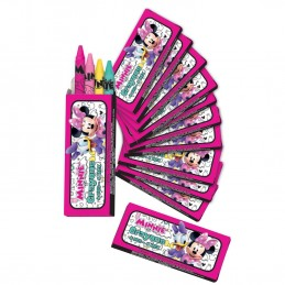 Minnie Mouse Mini Crayon Boxes (Pack of 12) | Minnie Mouse Party Supplies