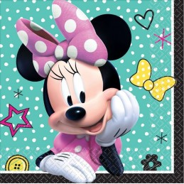 Minnie Mouse Small Napkins (Pack of 16)