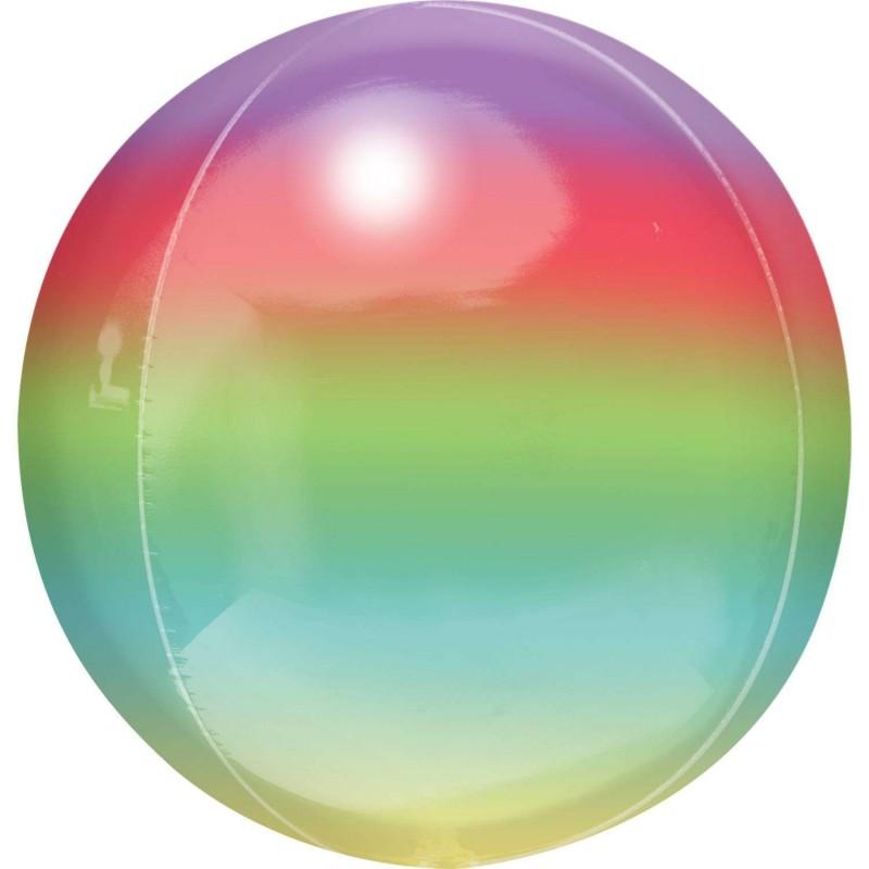 Ombre Rainbow Orbz XL Balloon