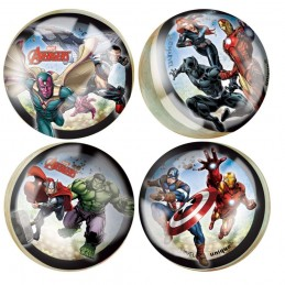 Avengers Bouncy Balls (Pack of 4) | Avengers Party Supplies