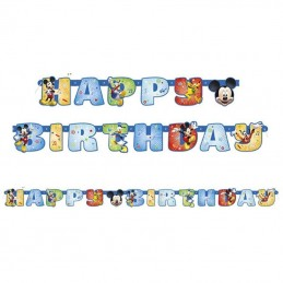 Mickey Mouse Birthday Jointed Banner