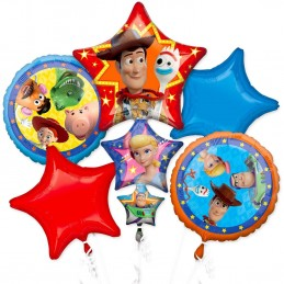 Toy Story 4 Balloon Bouquet (5 Piece)