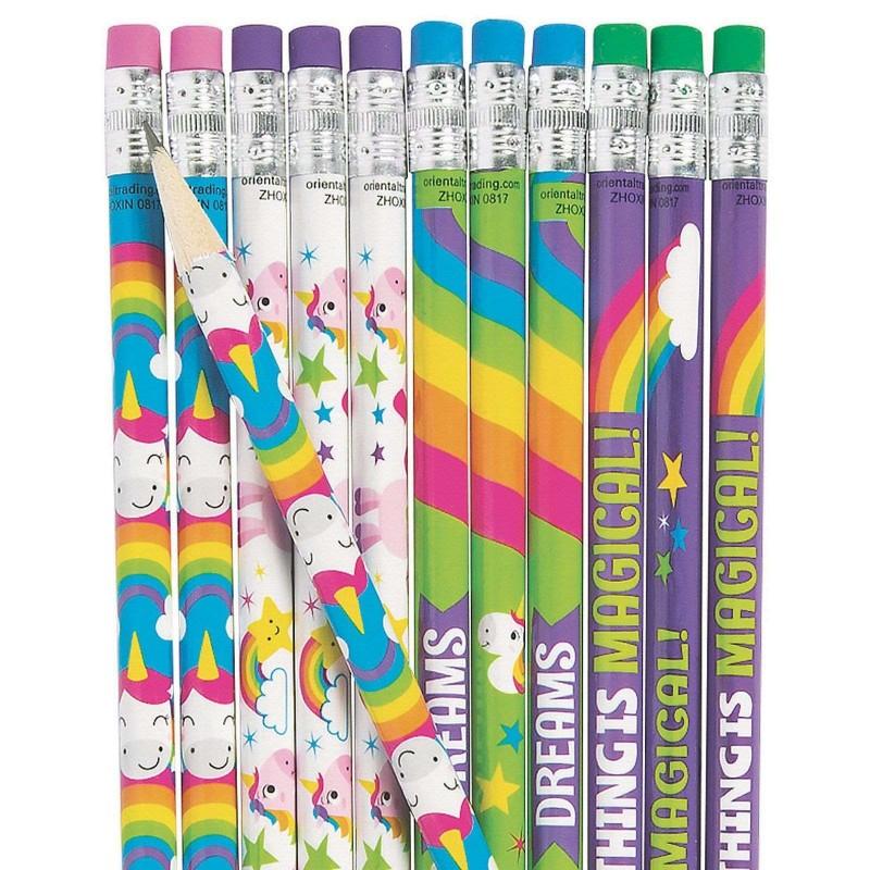 Unicorn Pencils (Pack of 24)