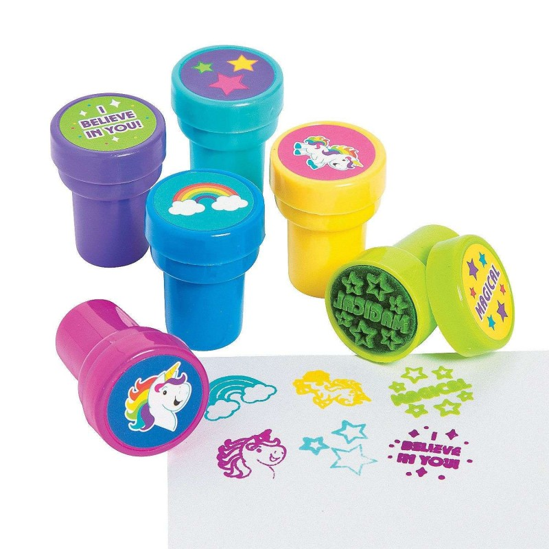 Unicorn Stamps (Pack of 12)