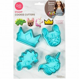 Wilton Stamp Cookie Cutters...