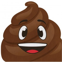 Emoji Poop Shaped Large...