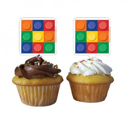 Block Party Cupcake Picks...