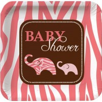 Pink Safari Baby Shower Party Supplies - Who Wants 2 Party Australia