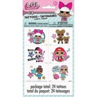 Stickers & Temporary Tattoos | Kids Party Favours - Who Wants 2 Party Australia