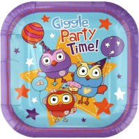 Giggle & Hoot Party Supplies | Giggle & Hoot Birthday Decorations - Who Wants 2 Party Australia